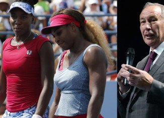 Russian Tennis Federation President Shamil Tarpischev has been fined $25,000 for referring to Serena and Venus Williams as the Williams brothers