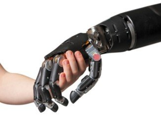 Sensors on the artificial hand are used to send signals directly to the nerves
