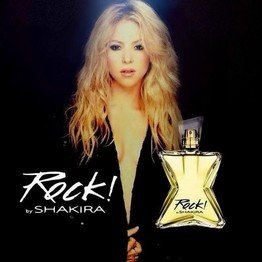 Shakira launched her latest perfume Rock! in Barcelona