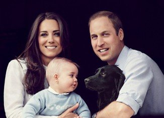Since his birth in July 2013, Prince William and Kate Middleton have posed for a number of official photographs with Prince George