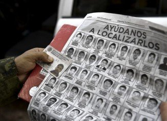 The 43 students were last seen being pushed into police vans after a protest in Guerrero state on September 26