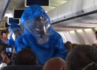 The CDC officials are seeking 132 people who flew on a plane with a Texas nurse on the day before she came down with symptoms of Ebola