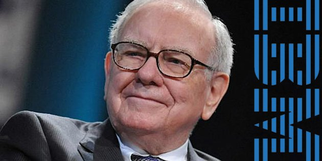 Warren Buffett lost $1.06 billion after the plunge in IBM shares