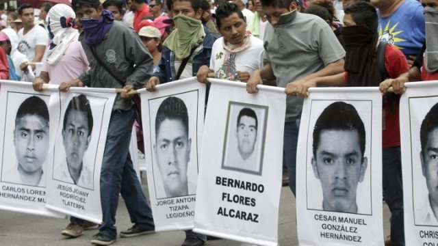 A total of 43 students went missing after clashing with police on September 26 in the town of Iguala
