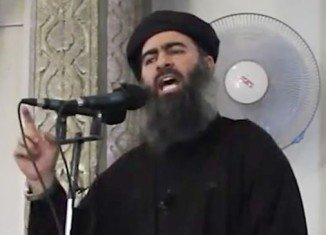Abu Bakr al-Baghdadi was said to have been caught in a US-led air strike near the Iraqi city of Mosul