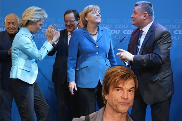 Angela Merkel apologized to Campino for playing one of his songs at her re-election party in 2013