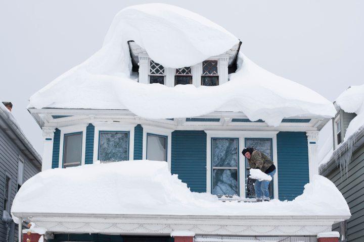 Buffalo snow storm photo