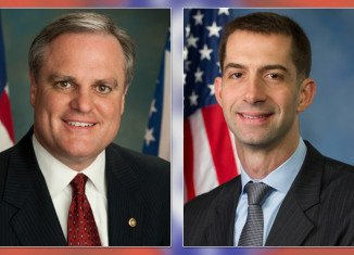 Democrat Senator Mark Pryor is running for re-election against Republican Tom Cotton in Arkansas