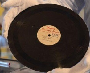Elvis Presley's first recording is to be sold at an auction in Memphis
