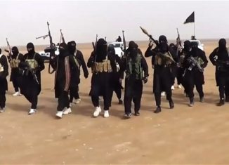 ISIS militants control large areas of Iraq and neighboring Syria