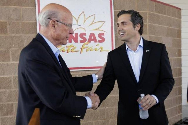 Independent Greg Orman is looking strong in Kansas battle against Republican incumbent Senator Pat Roberts