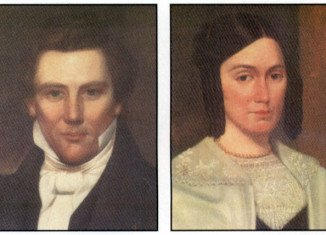 Joseph Smith was portrayed in Mormon Church materials as a loyal partner to his loving spouse Emma Hale
