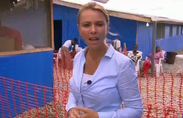 Lara Logan is being quarantined in a South Africa hotel for 21 days as a precaution after visiting Ebola patients in Liberia