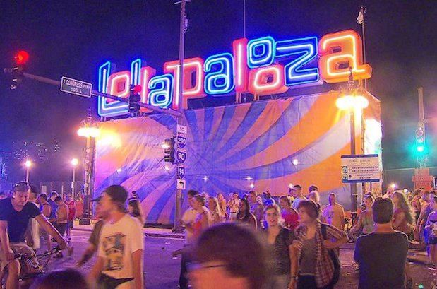 Lollapalooza music festival, held in Chicago since 1991, will land in Berlin's Tempelhof airport site in September 2015