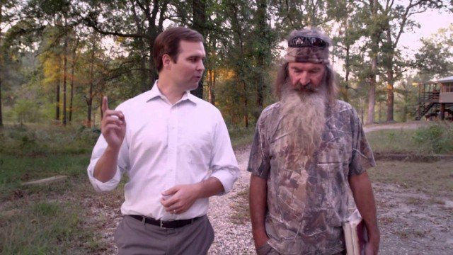 Louisiana Republican candidate Zach Dasher is Phil Robertson's nephew