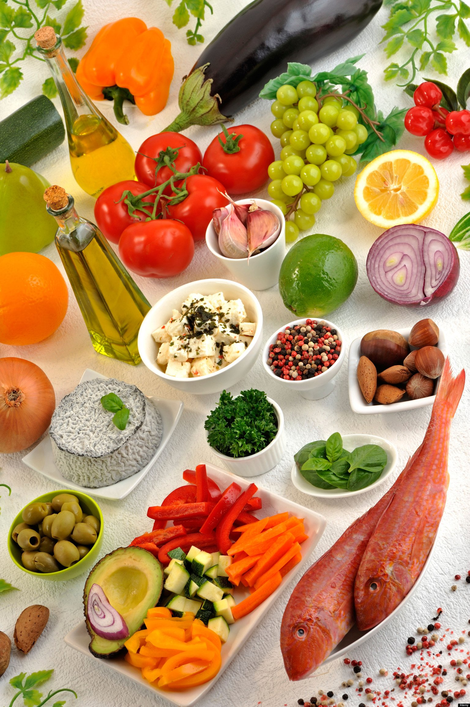 Mediterranean diet may be a better way of tackling obesity for Mediterranean menu