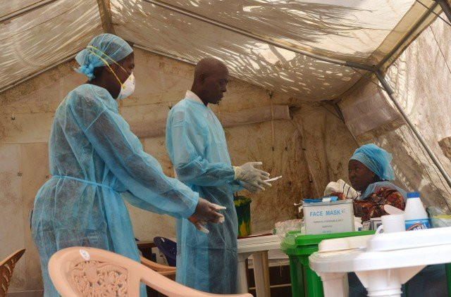 Nearly 5,000 people out of about 14,000 cases have been killed by Ebola, most of them in Liberia