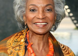 Nichelle Nichols played Uhura on the iconic sci-fi show Star Trek