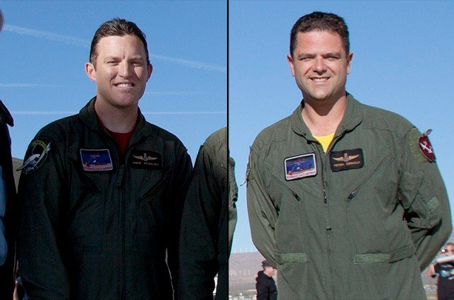 Peter Siebold, right, survived the incident but his co-pilot, Michael Alsbury, died