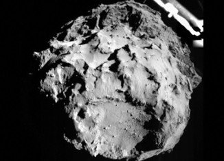 Philae probe has sent first pictures after a historic comet landing