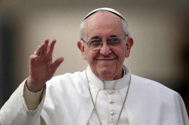 Pope Francis Strasbourg photo