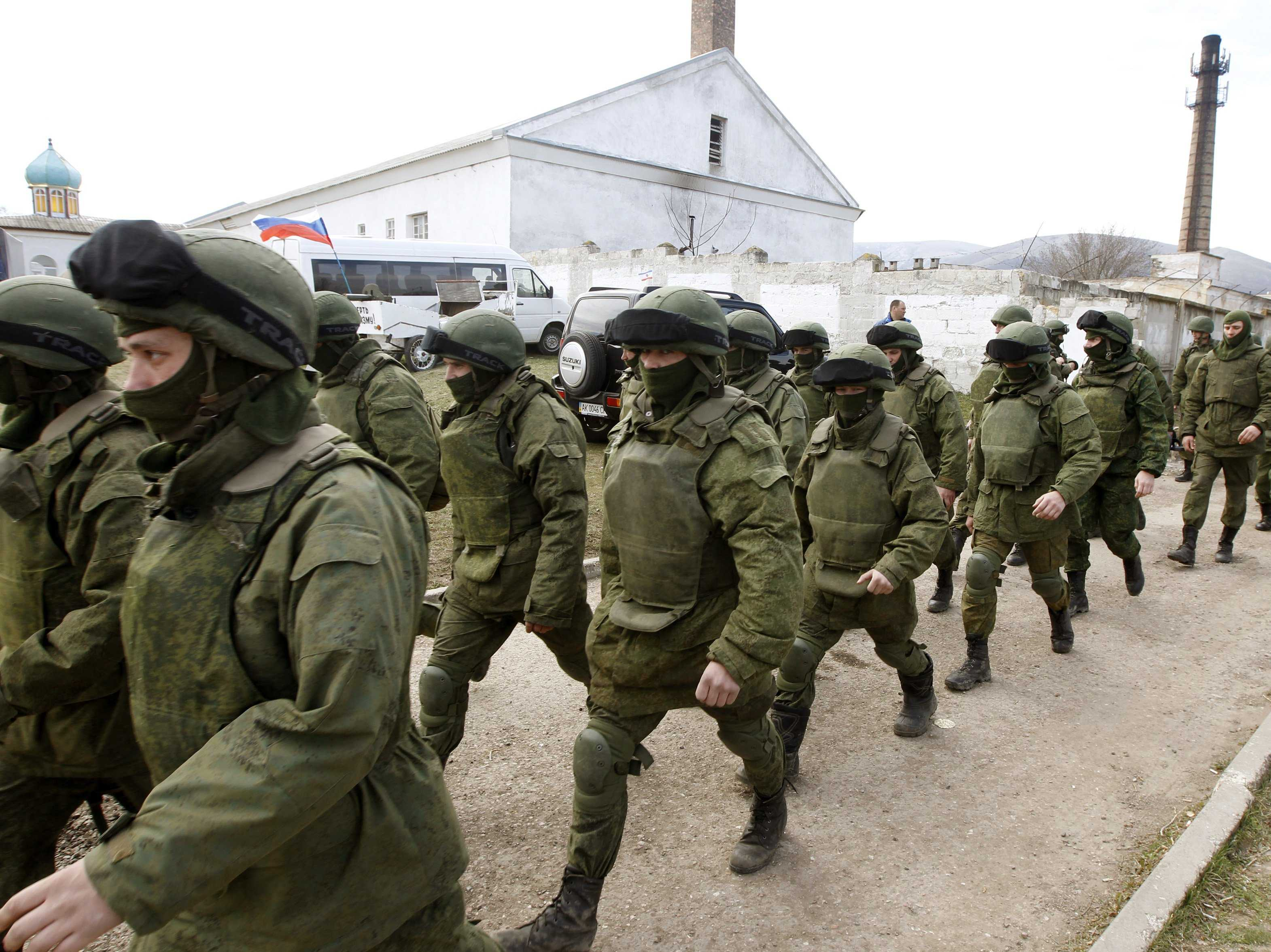 Russian Army Entered 121