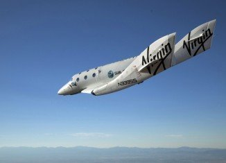 SpaceShipTwo was flying its first test flight for nine months when it crashed shortly after take-off near Bakersfield