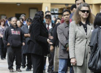 The US unemployment rate has fallen to 5.8 percent in October 2014