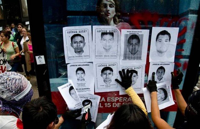 The disappearance of 43 students six weeks ago from the town of Iguala has sparked a series of violent protests