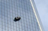 The window washers became trapped on scaffolding near the 68th floor of One World Trade Center