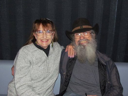 Uncle Si Robertson and his wife Christine