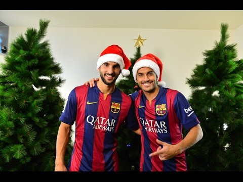 FC Barcelona advent calendar 2014