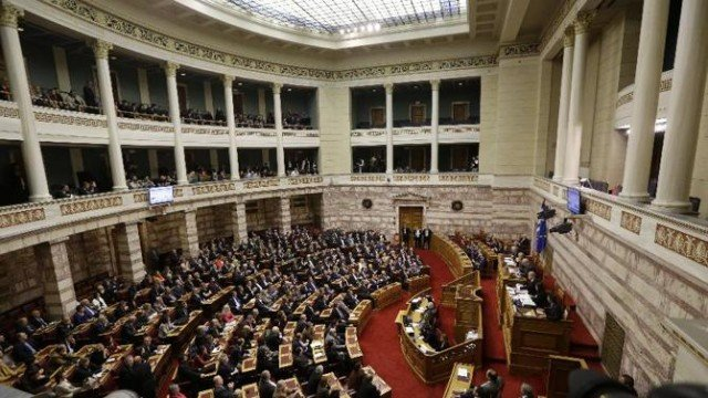 Greece parliament presidential vote