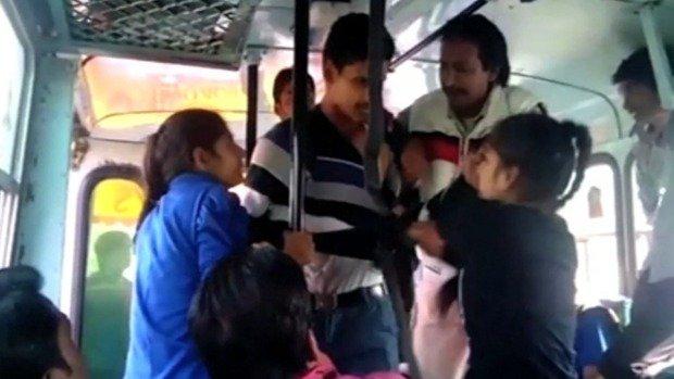 Indian sisters fightback Eve teasing