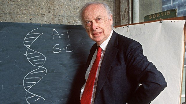 James Watson's Nobel Prize gold medal