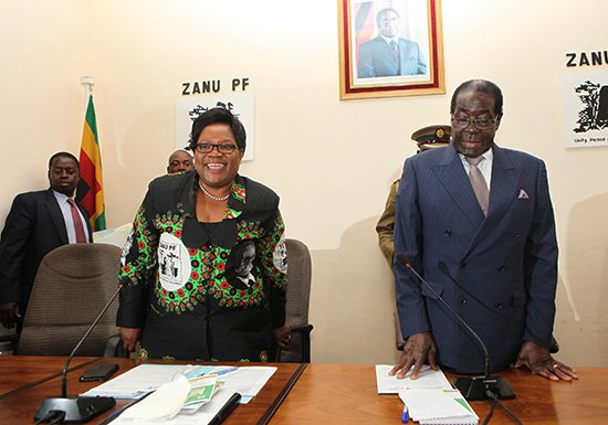 Joice Mujuru and Robert Mugabe scandal