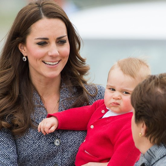 Kate Middleton and Prince George visited the Winter Wonderland holiday fair