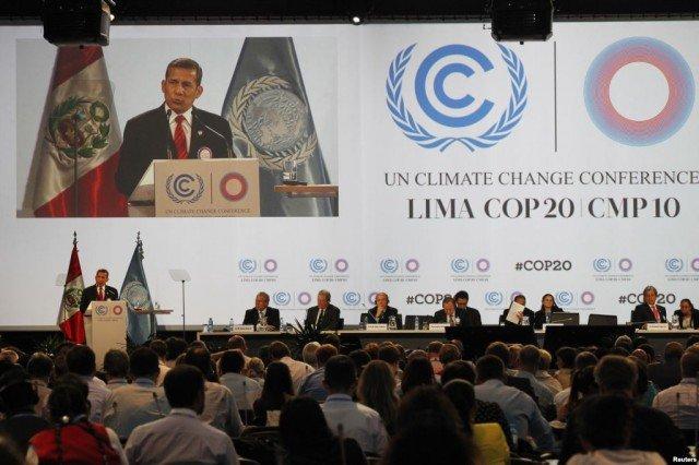Lima climate change talks 2014