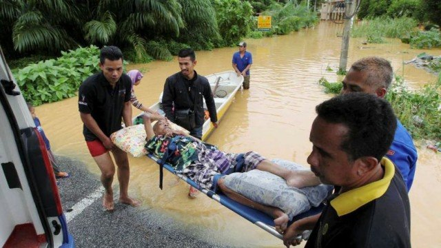 Malaysia floods 2014