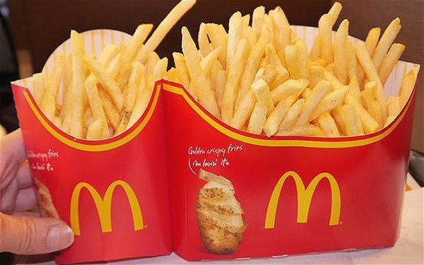 McDonald's Japan rations French fries