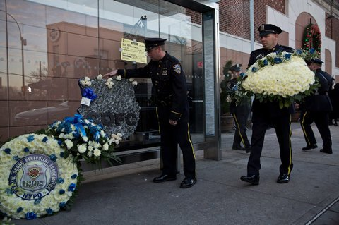 NYPD Officer Rafael Ramos funeral
