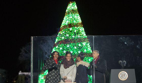 National Christmas Tree Lighting 2014