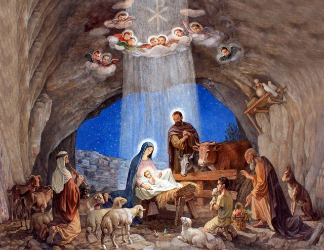 Nativity scene banned in France