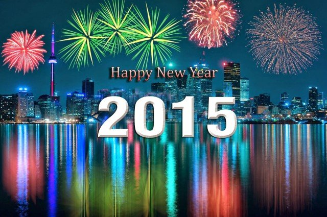 New Year celebrations 2015