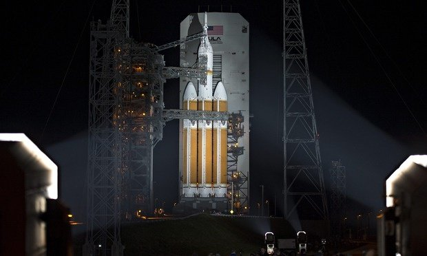 Orion spacecraft to Mars