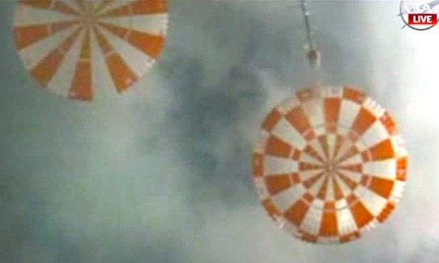 Orion splashdown December 2014
