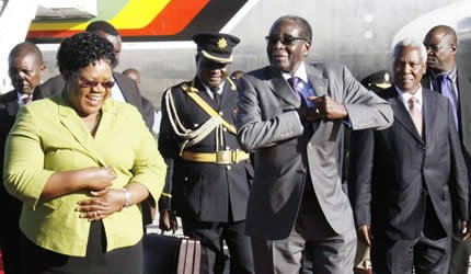Robert Mugabe sacked VP Joice Mujuru