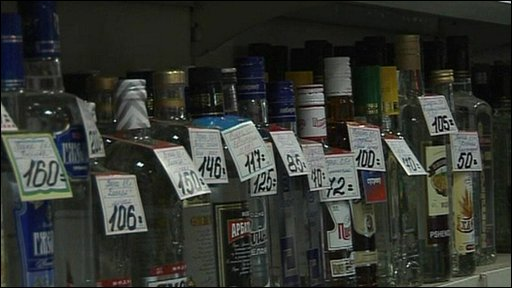Russian vodka rising prices