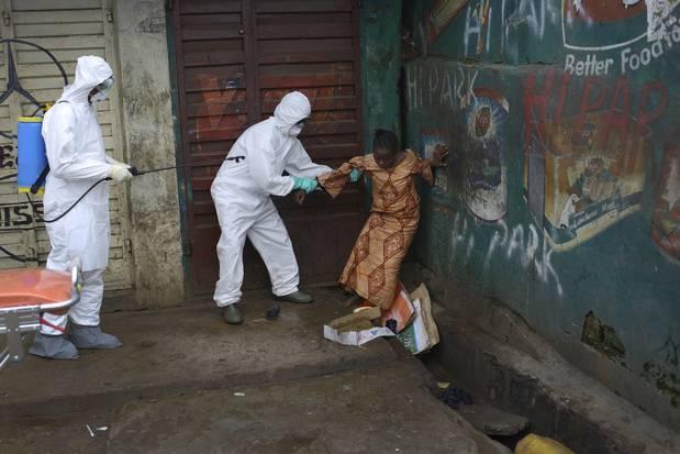 Sierra Leone Ebola lockdown