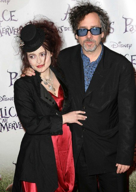 Tim Burton and Helena Bonham Carter split up